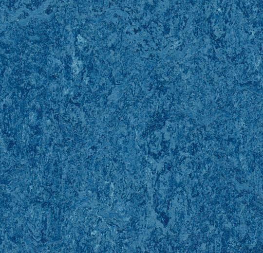 Marmoleum blue available in both tile and plank