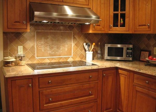 Use Custom-Etched Decorative Inserts