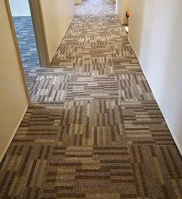 This private school chose carpet tile.