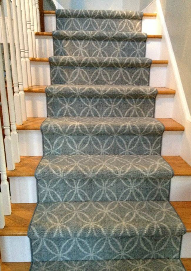From Nourtex. It's a custom fabricated nylon patterned stair runner.