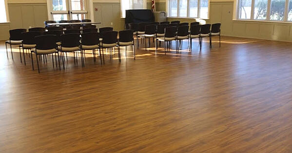 Another view of a Community Center Selects COREtec LVT