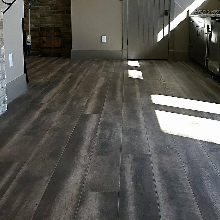 COREtec luxury vinyl tile plank installation