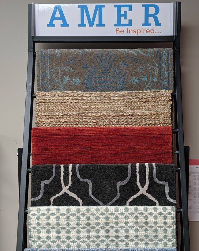 Be inspired to create your own custom area rug at Floor Decor Design Center in Orange, CT