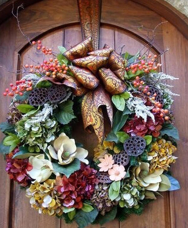 Wreaths: there's no limit to what you can create