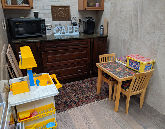 Space to Keep Your Youngest Customers Occupied