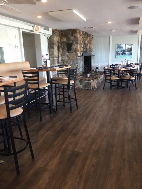 The Guilford Mooring Restaurant decided on COREtec XL LVT.