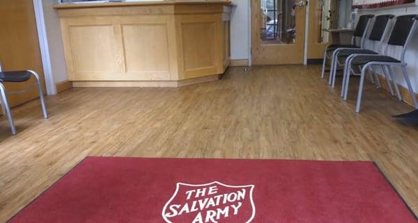 The Salvation Army Regional Office Picks LVT