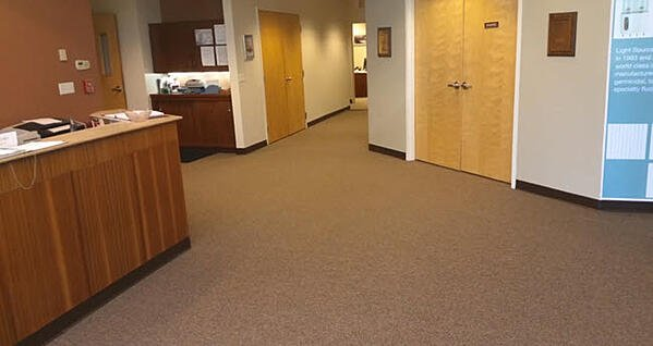 At The Light Source Corporate Headquarters Opts for Commercial Nylon Carpet