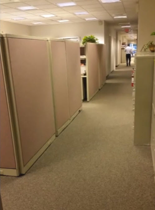 LightSource hallways with Shaw commercial nylon carpet