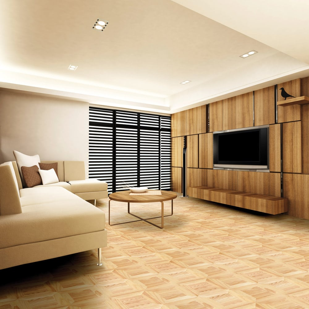 Parquet floors come in herringbone patterns, fingerblock patterns, and even Versailles-inspired patterns.