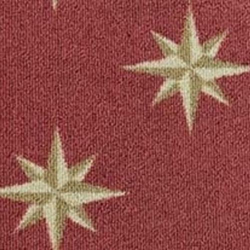 Nautilus Pompeii Red 3470 and brings a North Star motif to your floors.