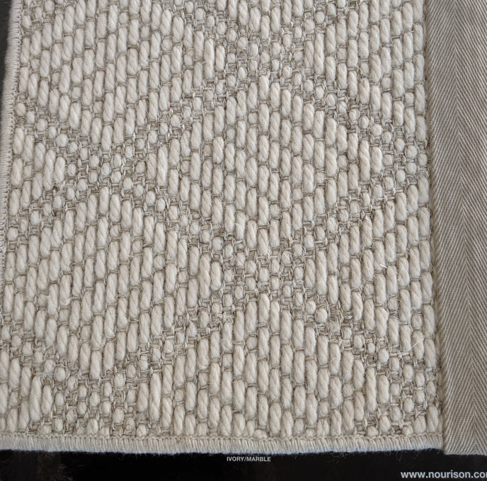 Nourison NatureWeave Rawdom as a Rug inIvory-Marble