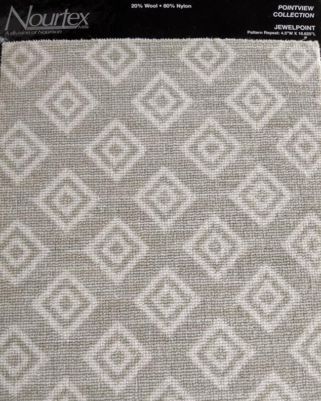 Jewelpoint from Nourtex features a diamond pattern.