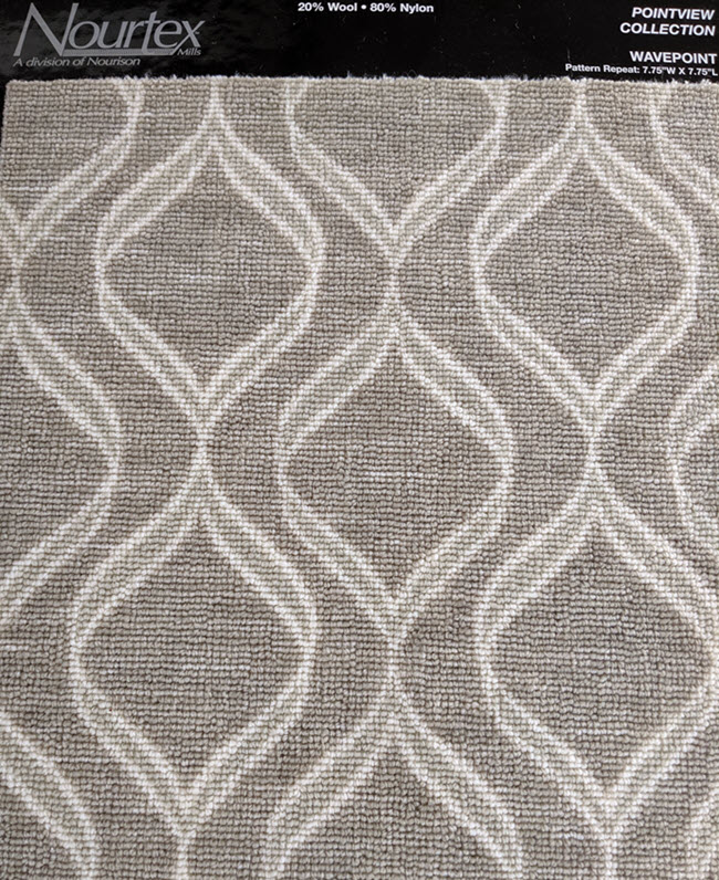 Wavepoint Broadloom carpet from Nourtex