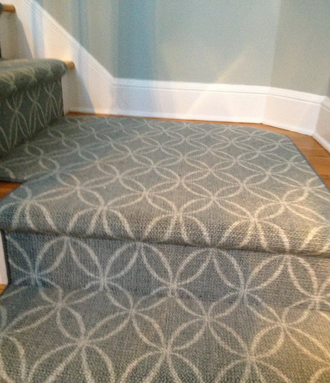 The Nourtex Point Pleasant Collection installed in stairs