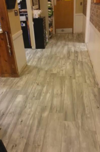 A Veterinary Office Decides on Porcelain Wood Plank Tile