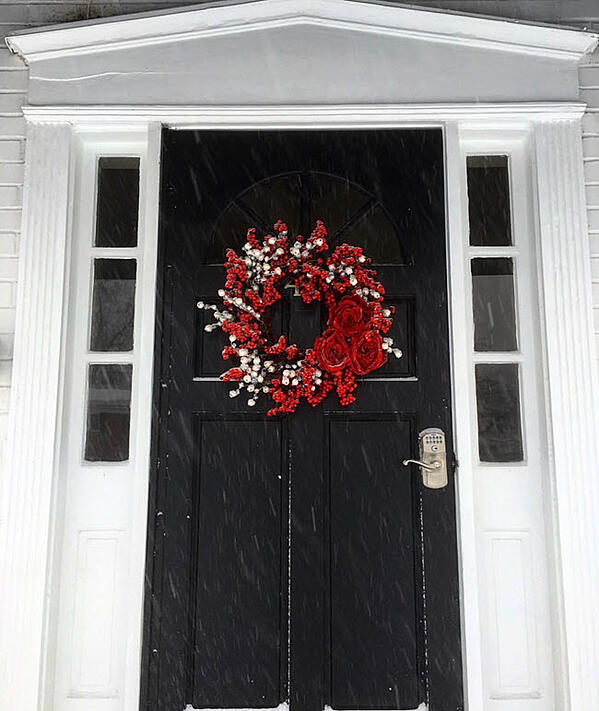 The Ultimate Holiday Welcome Starts At Your Front Door