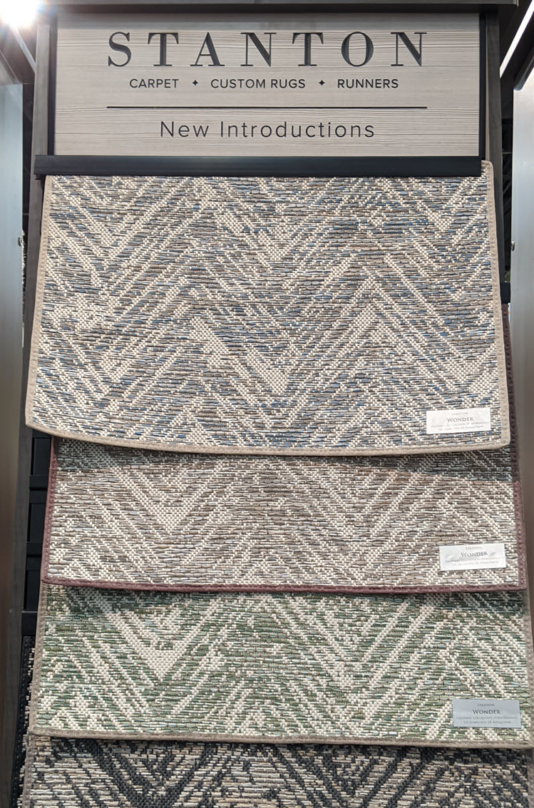 Custom stair runners add elegance and safety to any home.