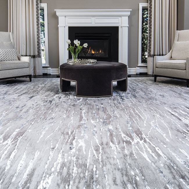 The new Tides Collection featuring the style Ripple Water from Stanton Carpet