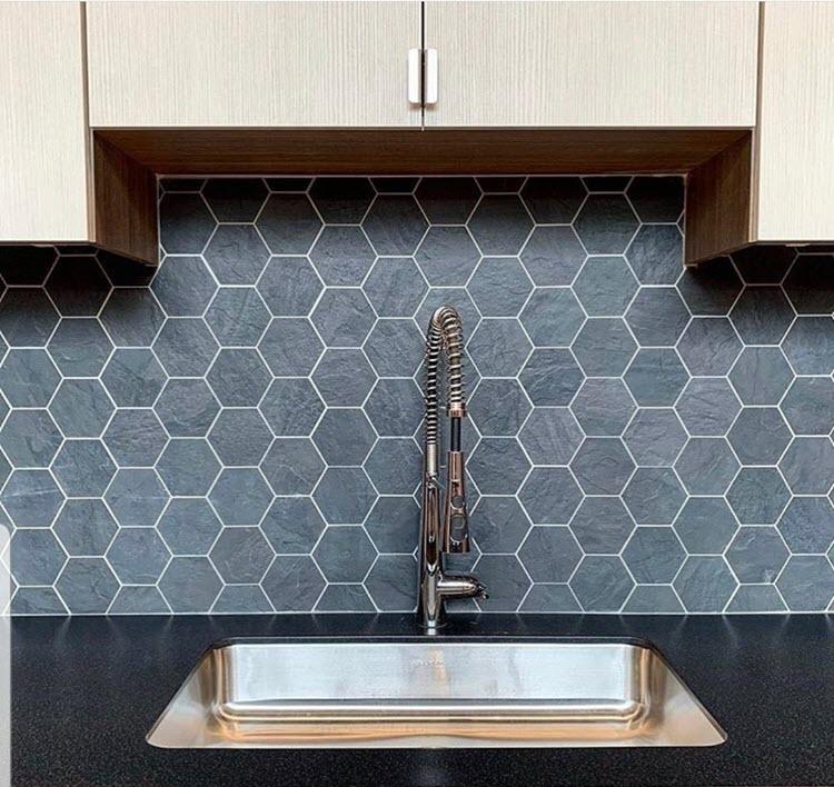 2-3/4 x 2-3/4 Hexagon Mosaic - Porcelain