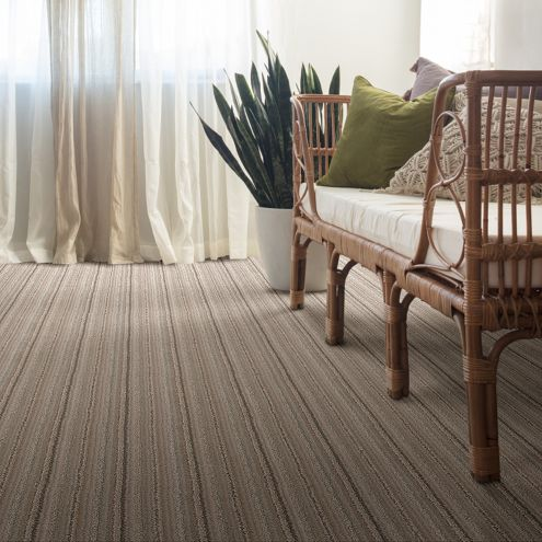 For another textural striped look, try Wizard of Paws.