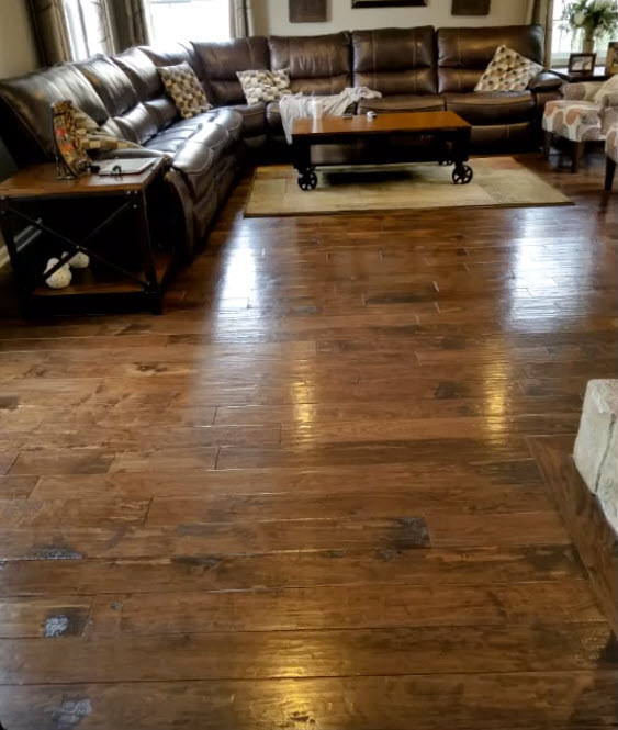 Armstrong American Scrape Hickory Color River House