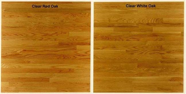 Clear Oak planks