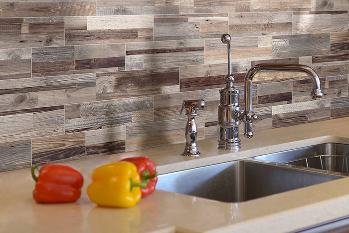 Designing with Wood Plank Tile on the Walls