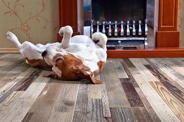 Wood Plank Tile Designs Perfect for Floors: Wine Barrel