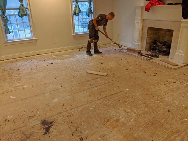 Carpet-Removal