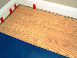 Expansion gaps are critical and floating floors require them.