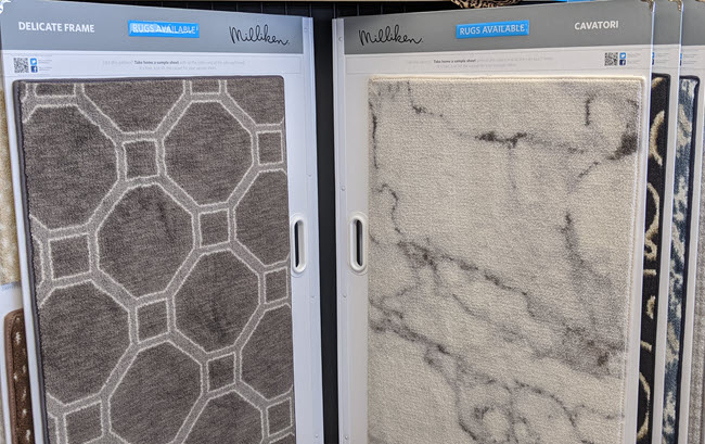 Milliken Area Rugs at Floor Decor Design Center
