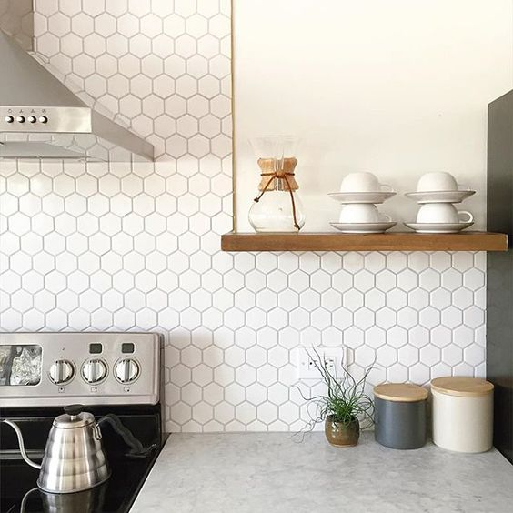Hexagon-Backsplash