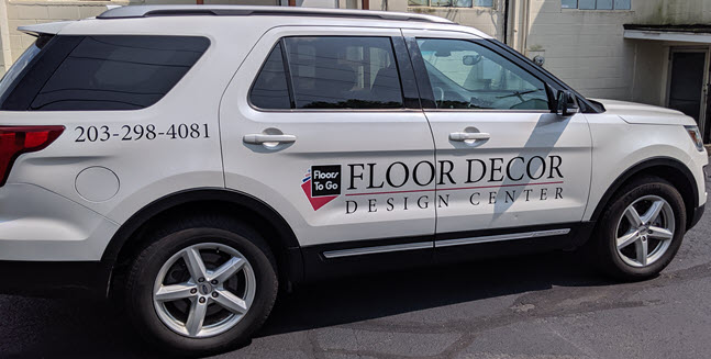 Floor Decor Design Center will visit you at home with samples.