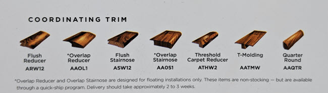 Old World Wood Trim Pieces