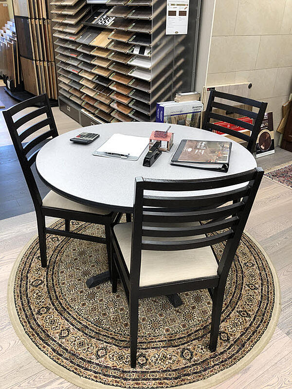 You'll find room to contemplate design possibilities at Floor Decor in Orange, CT