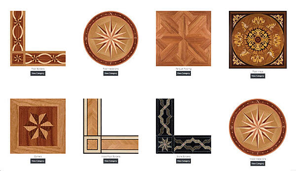 DON'T FORGET WOOD INLAY MEDALLIONS