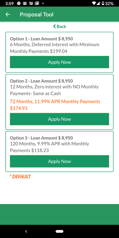 Select the Financing Option That's Best for You