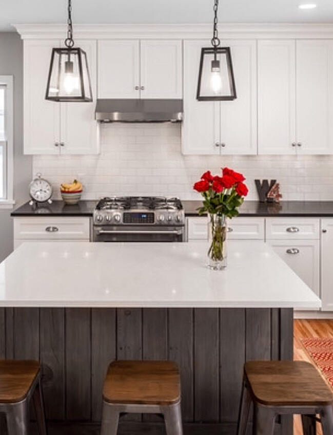 When it comes to designing a kitchen, it's important to understand work flows and traffic patterns.