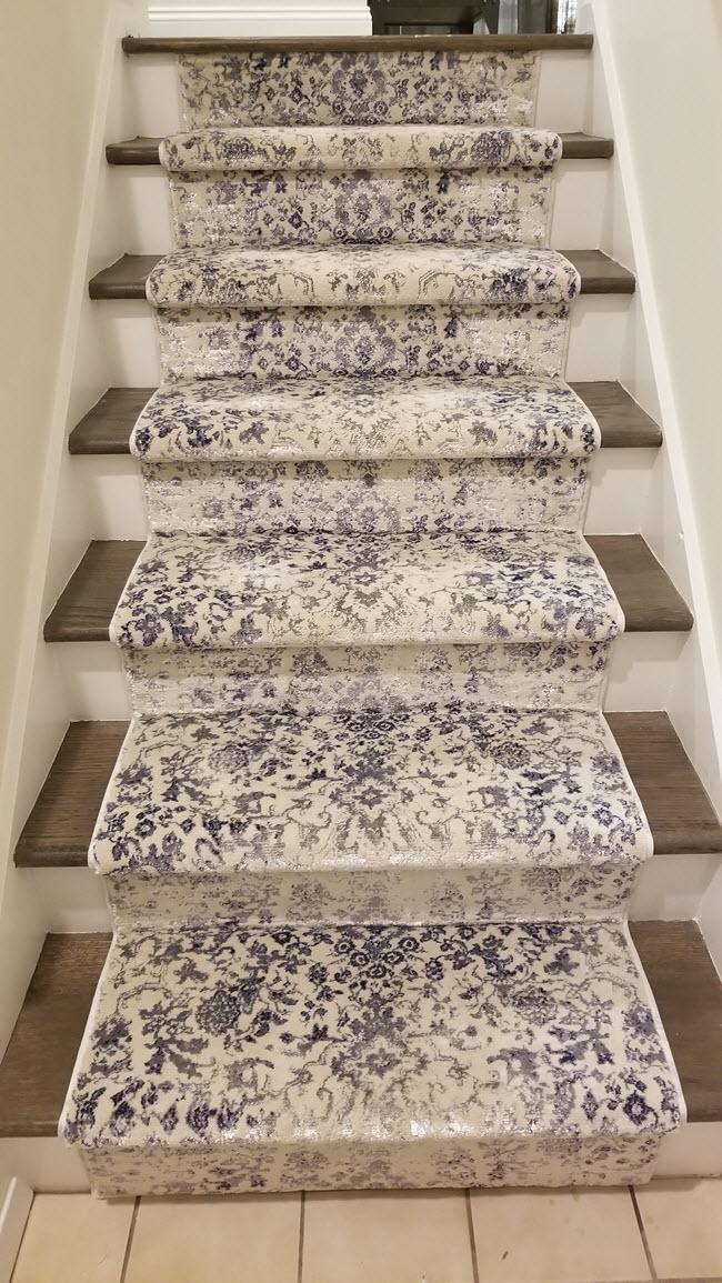 Hollywood Stair Runner Carpet Installation