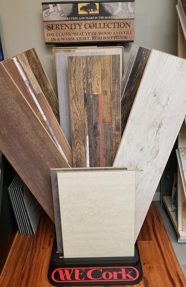 Cork is a versatile flooring option.