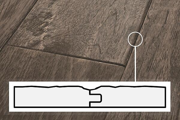 One of the biggest differences between pre-finished and site finished hardwood flooring has to do with plank beveling