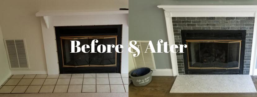 Transform a Backsplash or Fireplace with Tile