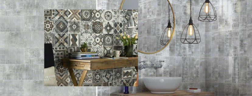 Cosmopolitan Tile Designs from Shaw Tile and Stone