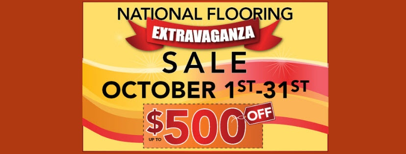 October National Flooring Extravaganza Sale